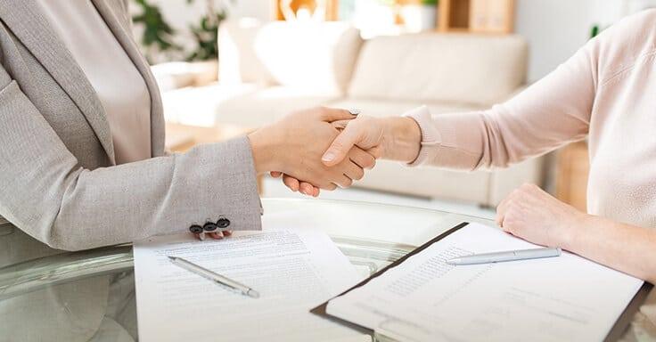 Abschluss Hausverkauf